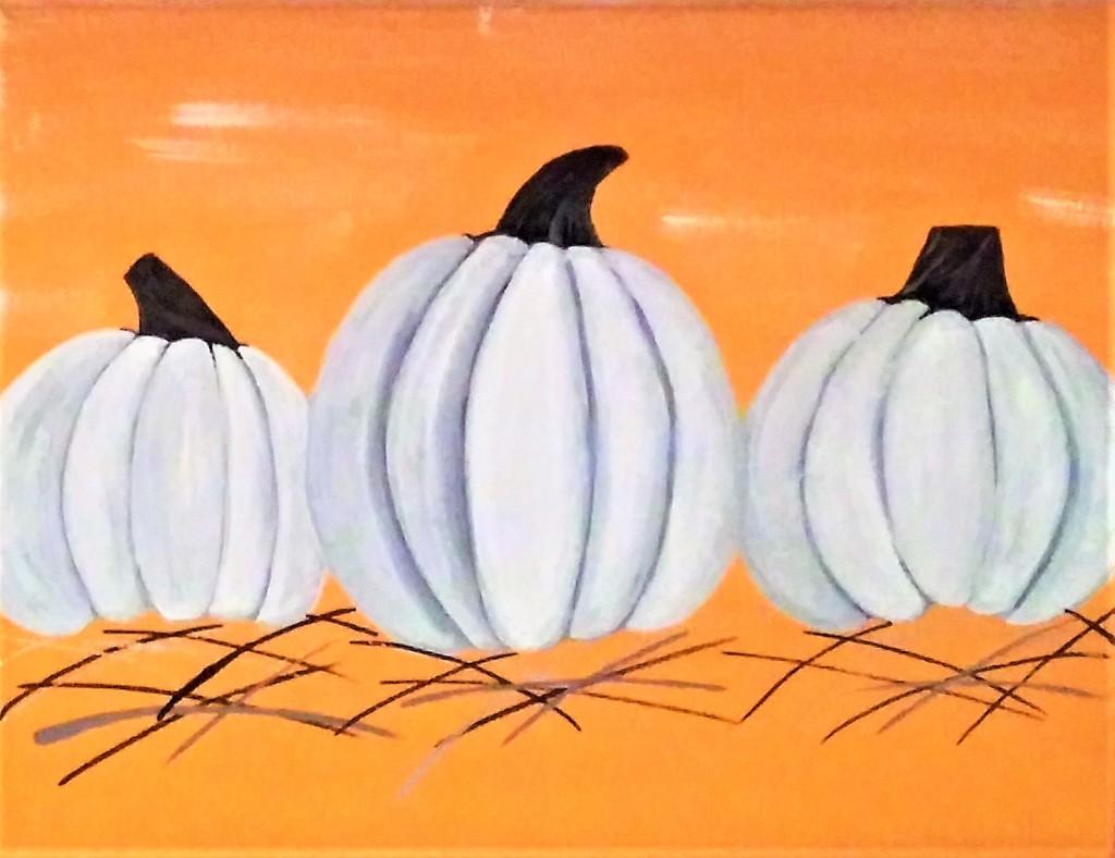 Three Pumpkins Stem Phase.